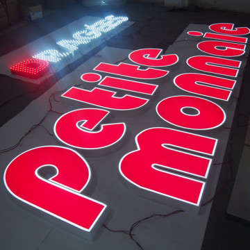LED Restaurant Signs Box Sign Custom Made
