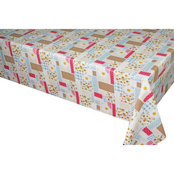 Elegant Tablecloth with Non woven backing Home