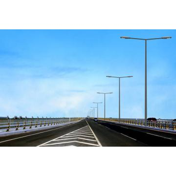 LED illumine Steel Pole