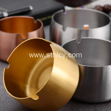 Thick and Windproof Stainless Steel  Ashtray
