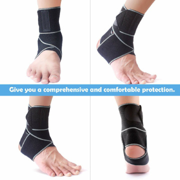 Elastic Ankle Compression Support Sleeve For Running
