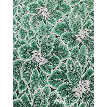 Nylon Polyester Spandex Panel Lace Fabric