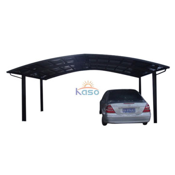 Modern Design 1 Car Polycarbonate Aluminum Carport