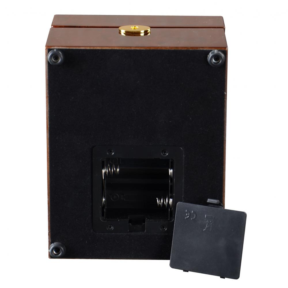 Ww 8221 Coffe Wood Watch Winder Details