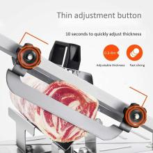 Stainless Steel Manual Frozens Meats Slicer Mutton Ham Beef Cutter Cutting Machine Kitchen Supplies Kitchen Tools