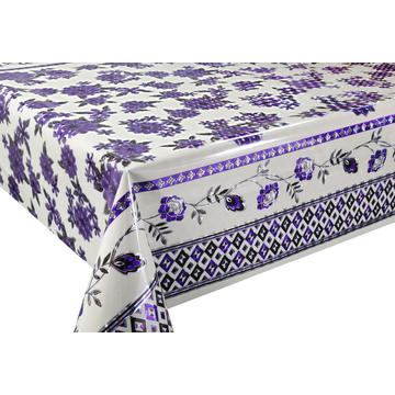 3D Laser Coating Tablecloth Lace Pattern