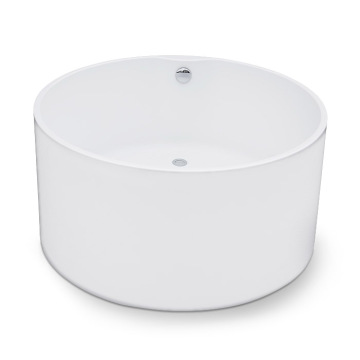 Small Round Freestanding Acrylic Bath Tub