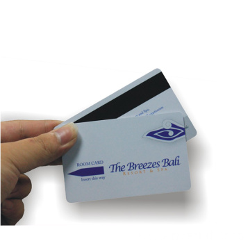 Magnetic Stripe Transparent Business Card