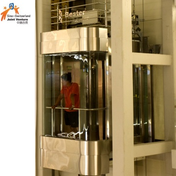 Glass Sightseeing Elevator for Building & Apartment