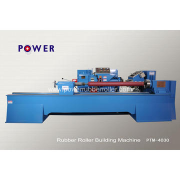 Factory Printing Rubber Roller Wrapping Machine