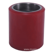 80*90mm Iron Core Pu Tread Forklift wheel