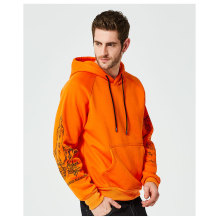 Mens Print Long Sleeve Pullover Sweater Hoodies Sweatshirts