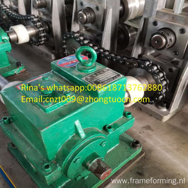 side slider roll forming machine U side guide channel machine side slider roll forming machine