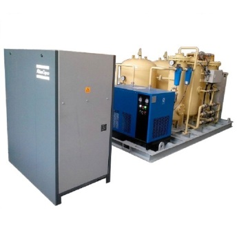 Energy-saving low cost skid nitrogen generator