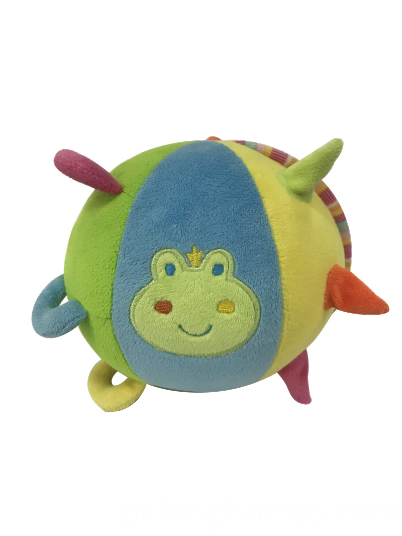 Soft Stuffed Frog Ball