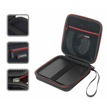USB CD DVD Writer Blu-Ray & External Hard Drive Travel Case for Apple Superdrive, Samsung, LG, Dell, ASUS External DVD Drives