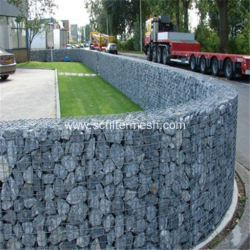 Galvanized Welded Mesh Gabion Retaining Walls
