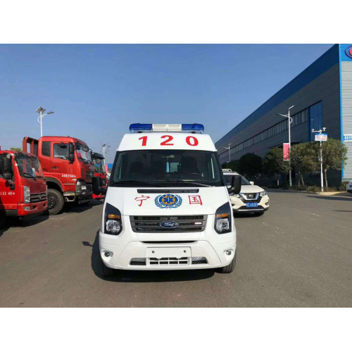 Brand New FORD V348SM Mobile Epidemic Control Ambulance