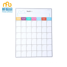 Magnetic Meal Planner Dry Erase Board