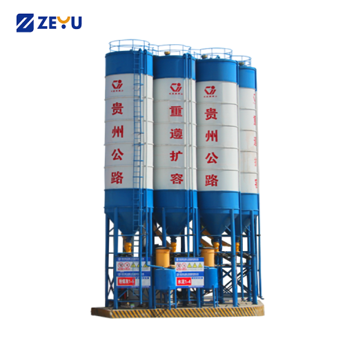 Q235 steel 500T Cement-Storage-Silo for cement mixing plant