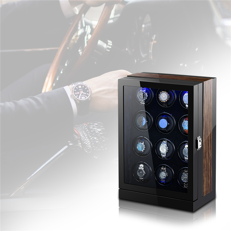 Automatic watch winder storage case