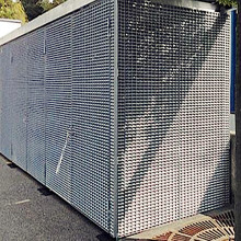 Galvanized Steel Bar Grating Container