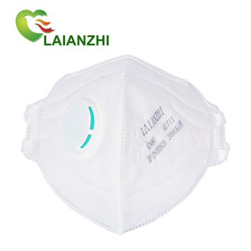 LAIANZHI Disposable Foldable Non-woven KN95 filtering mask