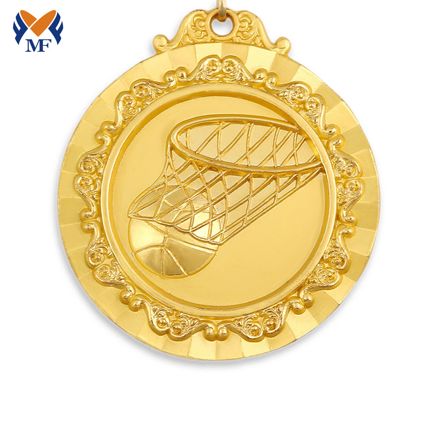Medal Sports Basketball Game