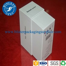 White Foldable Paper Box Packaging