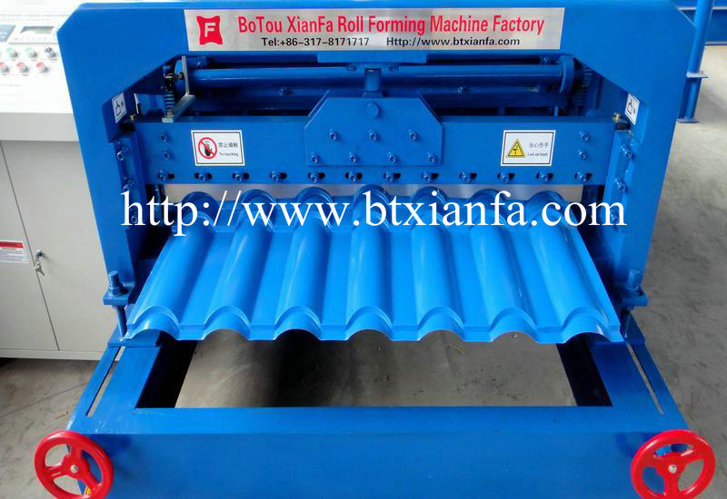 Tile Roof Roll Forming Machine