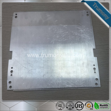 Composite Superconducting aluminum flat and round heat pipes
