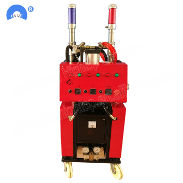 Double Air Silinder Polyurethane Foam Insulation Machine