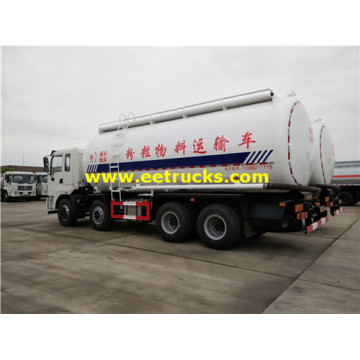 34cbm 12 Wheel Dry Powder Delivery Trucks