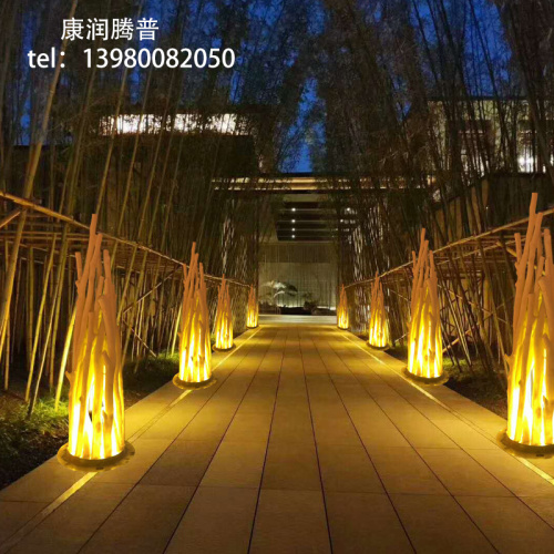 LED Stake Light Flame Lawn Lights