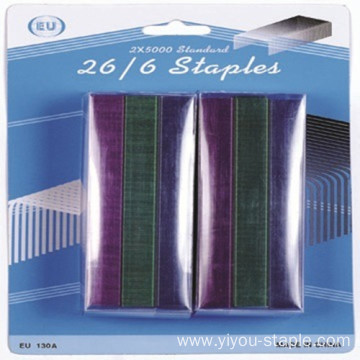 Factory wholesale  Colorful 26/6 Office Staples