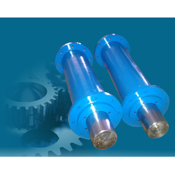 Welding cylinder for machine manufacturing