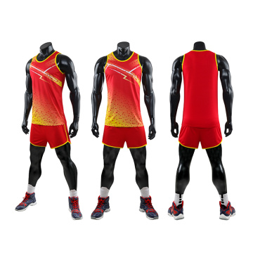 Parent-child running set sport vest