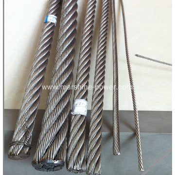 Braided Stainless Steel Wire Rope 304