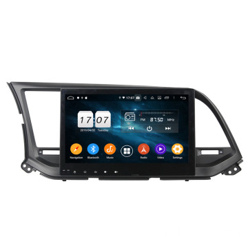 car auto multimedia dvd player for Elantra 2016