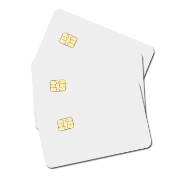 RFID Contact Cards 4442 Chip PVC Blank Card