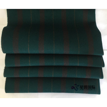 Brightly Colored Vertical Stripe 100% Wool Fabric