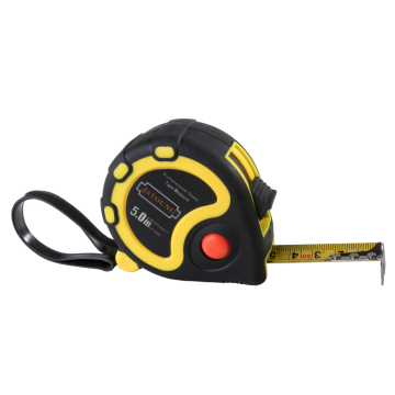 5m/19mm contractor rubber measuring tape Rubber Coatting <Tape.>