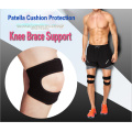 Patella cushion knee brace support for all sports