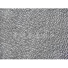 embossed aluminum sheet products for lighting