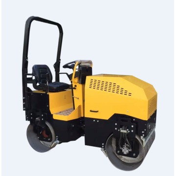 Smooth drum 2 ton road vibratory compactor