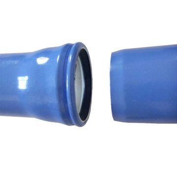 Socket Type Plastic Coated Steel Pipe