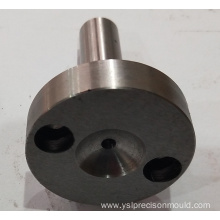 Round mold parts in steel material