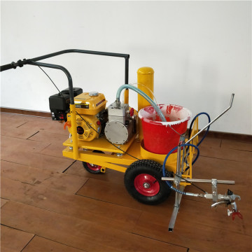 screeding painting road line marking machine