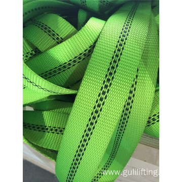 Custom webbing for ratchet and sling