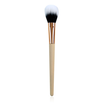Duo Fiber Blush Goge tare da Bamboo Handle